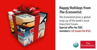 The Economist – prestižinis verslo, finansų, ekonomikos ir politikos savaitraštis kartu su ISIC!