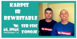 """Dar vien festivalio """"Galapagai"""" hip hop'o grupė užsuks į SEB ISIC zoną pokalbiams!"""