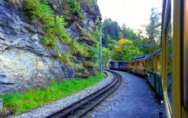 keliauk traukiniu pigiau