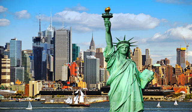 pigus skrydis i niujorka