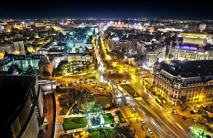 Bukareštas, Rumunijas