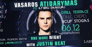 Didžėjus Justin Beat nustebins išskirtinių vakarėlių turu po Lietuvą