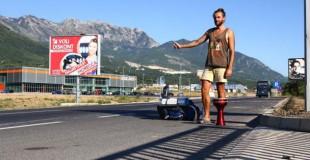 Keliautojas autostopu: Europoje visur jautiesi kaip namuose