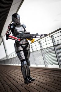 Now Japan 2016 Miglė Commander Shepard. Artflower