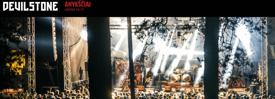 VELNIO AKMUO 2016 | DEVILSTONE 2016 | Anyksčiai