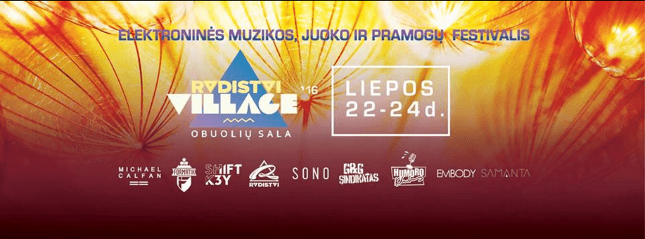 radistai village 2016 festivalis isic nuolaida