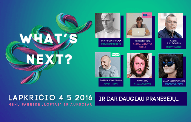 what's next 2016 konferencija
