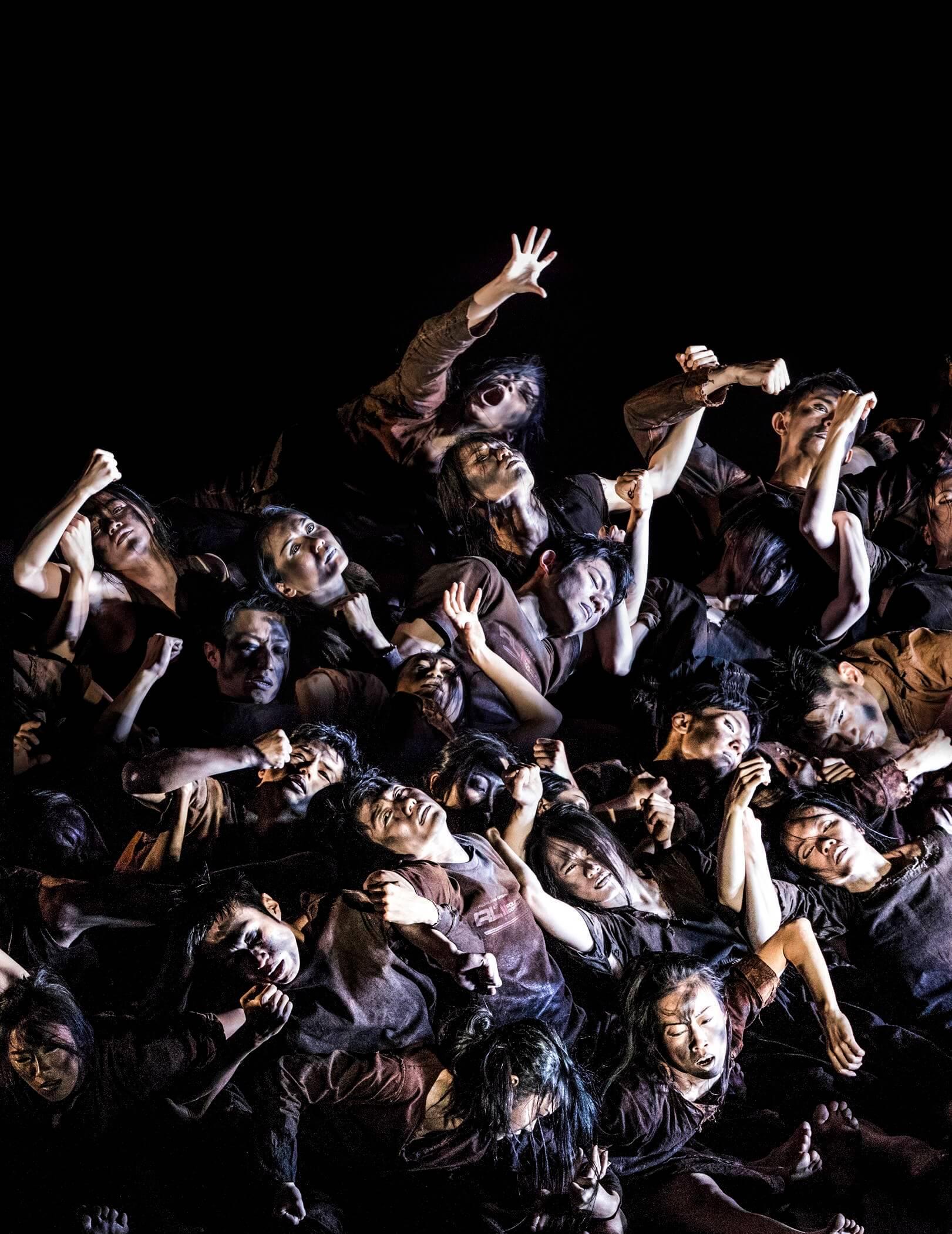 Cloud Gate šokio teatras_Dulkė_Liu Chen-hsiang nuotr.