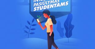 Karštas interneto pasiūlymas studentams