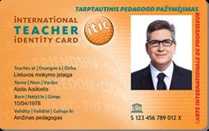 Pedagogo pažymėjimas