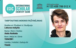 International Scholar Identity Card