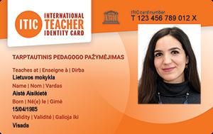 International Teacher Identity Card